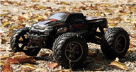 XinleHong Toys 9115 RC Car,RC monster Truck,High speed 1/12 1:12 Full-scale rc racing car,Shockproof-Red Color
