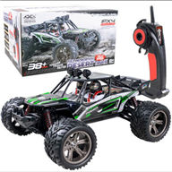 XinleHong Toys 9123 RC Car,RC monster Truck,High speed 1/12 1:12 Full-scale rc racing car,Shockproof-Green