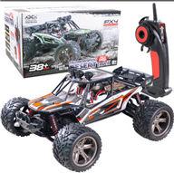 XinleHong Toys 9123 RC Car,JYRC 9123 RC monster Truck,High speed 1/12 1:12 Full-scale rc racing car,Shockproof-Orange