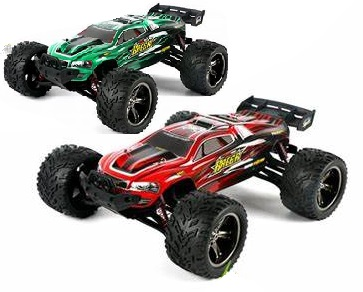 Luctan S912 RC Car,RC monster Truck,High speed 1/12 1:12 Full-scale rc racing car,Shockproof-Green Color