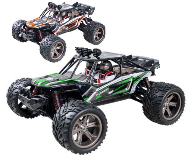 XinLeHong toys 9120 RC Car,RC monster Truck,High speed 1/12 1:12 Full-scale rc racing car,Shockproof-Green